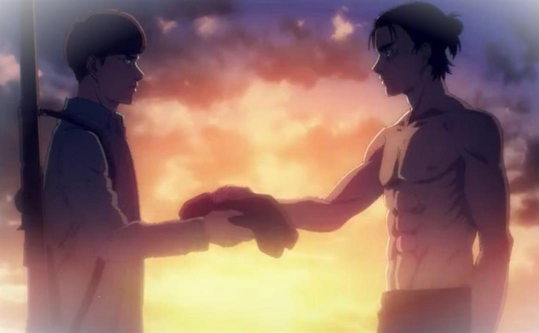 Attack On Titan Saison 4 Episode 13 Eren vatil rencontrer Zeke kYNcvXO4 5
