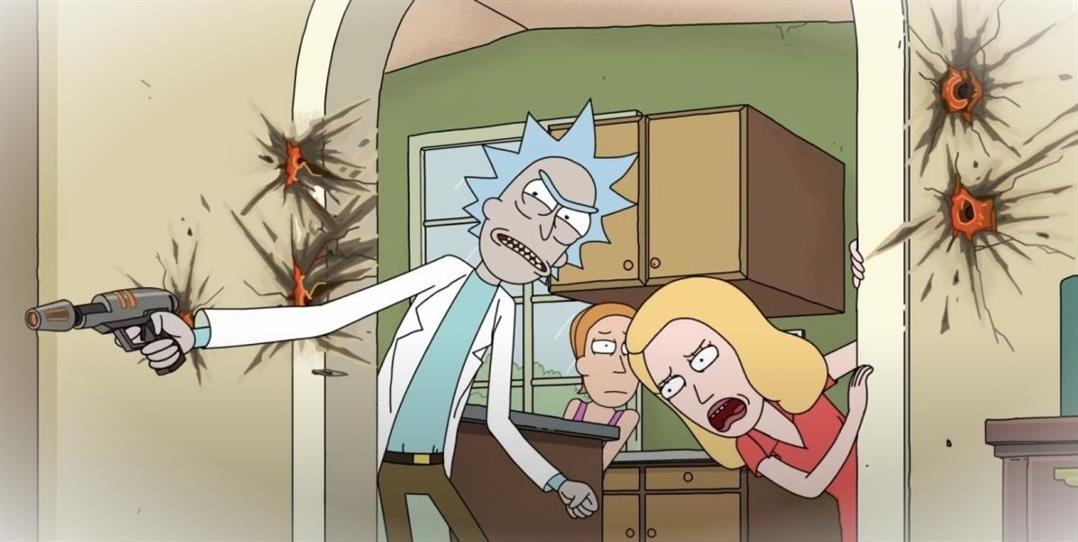 Saison 5 de Rick et Morty sur de nouveaux exploits avec les Smiths MjOXN 9