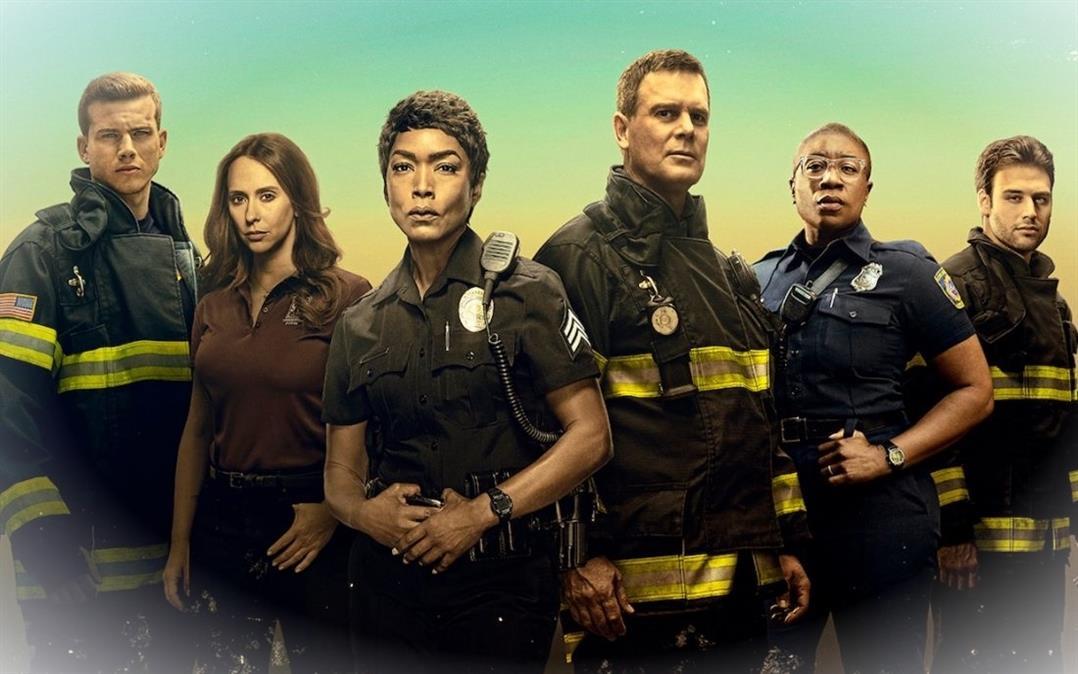 911 Saison 4 Episode 13 Suspicion 118 membres coinces dans uneAmDA05B 6