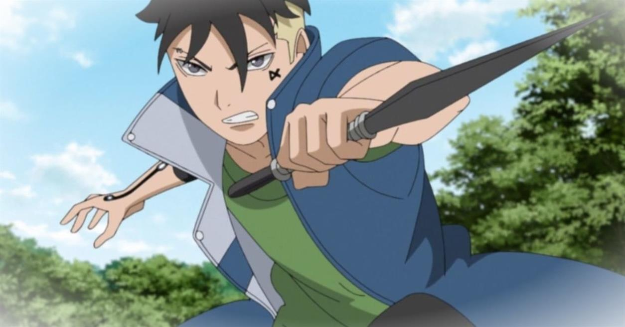 Boruto Episode 200 Naruto a la formation Kawaki Chakra controle 33JOAh8 4